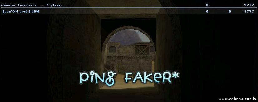Посмотреть Ping Faker