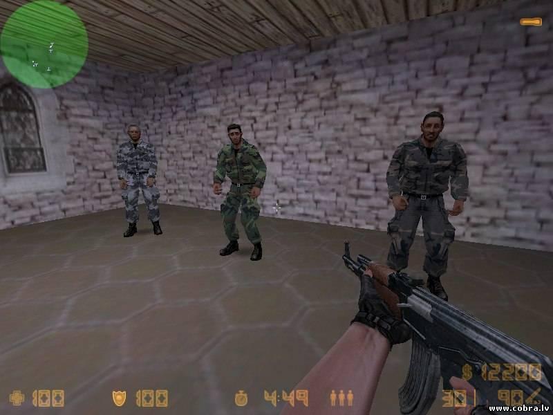 Скачать бесплатно Модель заложника Military Hostages для cs 1.6 с