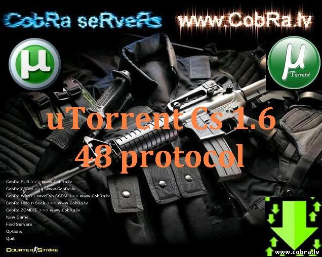Скачать Counter Strike 1.6 48 протокол NEW version (последний патч) В